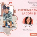 Furtunile emotionale la copii si parinti, un eveniment marca Otilia Mantelers