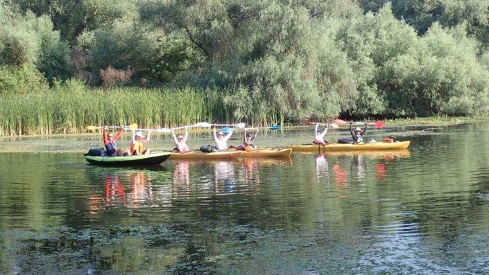 Delta Dunării văzută din caiac
